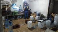 SAHTE İÇKİ - Bağcılar'da Sahte İçki Operasyonu