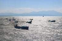 BEYŞEHIR GÖLÜ - Balıkçılar Tekneleriyle Yarıştı