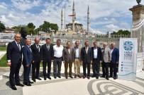 YAĞLI GÜREŞ - Başkan Çerçi, Edirne'de Kentler Birliği Toplantısına Katıldı