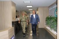 TUGAY KOMUTANI - Başkan Ergün, Tugay Komutanı Dere'yi Ağırladı