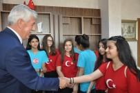 MÜZİK ÖĞRETMENİ - 'Bizim Türkümüz' Heyeti Müdür Elmalı'yı Ziyaret Etti