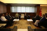 KAYSERI SANAYI ODASı - Borsa İstanbul Yönetim Kurulu Başkanı Karadağ, Başkan Çelik'i Ziyaret Etti