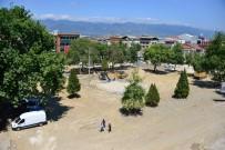 RECEP YAZıCıOĞLU - Erbaa Cumhuriyet Meydanında Yenileme Çalışması