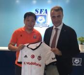 ŞANGHAY - Fikret Orman, Şanghay Futbol Federasyonu'nu Ziyaret Etti