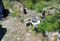MEHMET YıLDıZ - Giresun'da Trafik Kazası 1 Ölü 2 Yaralı