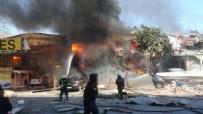 HASAR TESPİT - Samsun'da Sanayi Sitesinde Patlama: 1 Ağır, 11 Yaralı