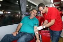 DEMOKRASİ NÖBETİ - Kızılay Kan Bağışı Kampanyası Devam Ediyor