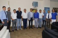 AHMET ÜNAL - MGC'den Akdeniz Belediye Başkanı Pamuk'a Ziyaret