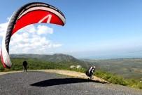 ULUABAT GÖLÜ - Nilüfer Belediyesi'nden Yamaç Paraşütü Kursu