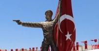 YıLMAZ ŞIMŞEK - Ömer Halisdemir Heykeli Açıldı
