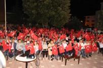 DEMOKRASİ NÖBETİ - Pazaryeri Halkı 15 Temmuz Gecesi Meydanları Doldurdu