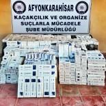 KÖPRÜLÜ - Polis Otobüste 9 Bin Paket Gümrük Kaçağı Sigara Ele Geçirdi