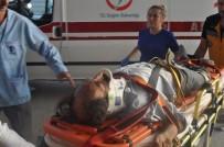 ALIBEYKÖY - Şaftına Patates Çuvalı Dolanan Araç Takla Attı Açıklaması 4 Yaralı