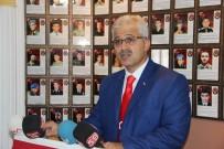MİMARLAR ODASI - Şehit Ailelerinden Mimarlar Odası Başkanının Görevden Alınmasına Tepki