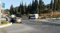 UĞUR DÜNDAR - Söke'de Kaza; Personel Minibüsü Ve Otomobil Çarpıştı