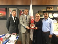 TIP ÖĞRENCİSİ - TBMM İçişleri Komisyonu Başkanı Güvenç, LYS Birincisi Beyza Gürbüz'ü Ağırladı