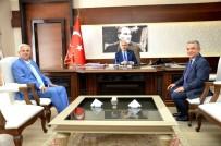 AYDIN VALİSİ - Toyran Ve Kayalı'dan Aydın Valisi Köşger'e Ziyaret