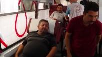 KAN BAĞıŞı - 4 Yaşındaki Lösemi Hastası İçin Kan Bağışında Bulundular