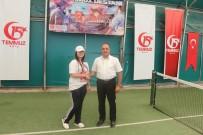 KUPA TÖRENİ - Ağrı'da 15 Temmuz Tenis Turnuvası