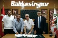 İMZA TÖRENİ - Balıkesirspor'a Yeni Sponsor