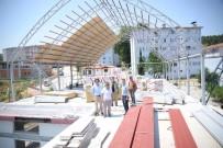 ŞENYAYLA - Başkan Yağcı İnşaat Çalışmalarını Yerinde İnceledi