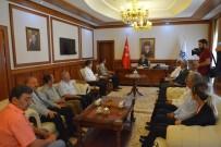 ALI KABAN - CHP İl Başkanı Kiraz'dan Vali Kaban'a Hayırlı Olsun Ziyareti