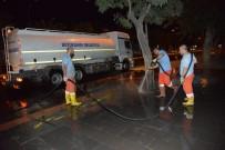 KALDIRIMLAR - Diyarbakır Kaldırımları Tazyikli Su İle Yıkanıyor