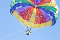 SU SPORLARI - Emre Kaya'nın Jet Ski Ve Paraşüt Keyfi