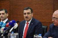 VERGİ MUAFİYETİ - Gümrük Ve Ticaret Bakanı Tüfenkci Bakü'de İş Adamlarıyla Buluştu