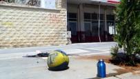 ŞÜPHELİ PAKET - Kaldırımda Unutulan Sırt Çantasından Parfüm Ve Basketbol Topu Çıktı