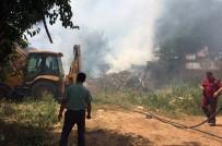 Kırıkkale'de Çıkan Yangında 4 Ev Zarar Gördü