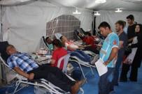 KAN BAĞıŞı - Kızılay'a İki Günde 270 Ünite Kan Bağışı Yapıldı