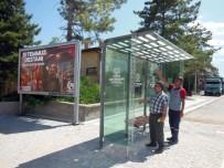 RAYLI SİSTEM - Konya'da İlçelere Modern Otobüs Durakları Yapılıyor