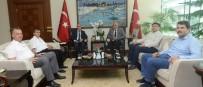 LIBYA - Libya Büyükelçisi Abdulkadir'den Denizli'ye Ziyaret