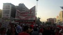 GAZILER - Suriyeli Muhacirler 15 Temmuz İçin Yürüdü