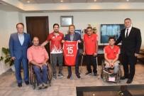 TEKERLEKLİ SANDALYE BASKETBOL - Uğur Açıklaması 'Balıkesir Sporda Adını Dünyaya Duyuruyor'