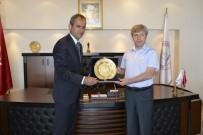 AHMET ÇıNAR - Vali Çınar'dan Rektör Özer'e Ziyaret