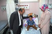 İSMAIL USTAOĞLU - Vali Ustaoğlu'ndan Hastane Ziyareti