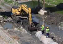 ANTAKYA - Asi Nehri'nde Atık Su Hattı Çalışmaları Hızla İlerliyor