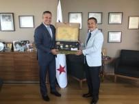 AYDOĞMUŞ - Başkan Ataç'tan Büyükelçi Corona'ya Ziyaret