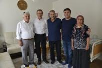 AHMET ATAÇ - Başkan Ataç'tan Geçmiş Olsun Ziyareti