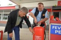 İTFAİYE MÜDÜRÜ - Bilecik Belediyesi İtfaiye Müdürlüğünden Benzin İstasyonu Denetimleri