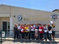 İNTERNET SİTESİ - Çerkezköylü Girişimci Adayları Sertifikalarını Aldılar
