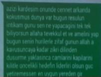 TERÖR SALDIRISI - CHP yürüyüşüne saldırının yazışmaları
