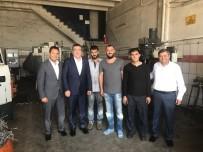 KALIFIYE - ETO Başkan Adayı Ayhan Sezer, Teksan Sanayi Sitesini Ziyaret Etti