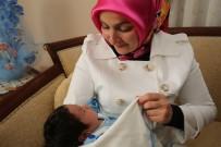 ERKILET - Fatma Çolakbayrakdar'dan 'Hoş Geldin Bebek' Ziyareti
