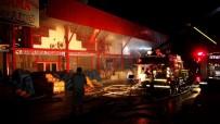 GÜVENLİK GÖREVLİSİ - Gaziantep'te Milyon Liralık Yangın