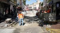 ONARIM ÇALIŞMASI - Gölebatmaz Caddesinde Bakım Onarım Çalışması Yapıldı