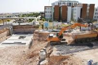 ERTUĞRUL ÇALIŞKAN - Karaman'da Hastane Alt Geçidinde Çalışmalar Sürüyor