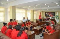 BEDEN EĞİTİMİ - Kd.Z. Ereğli Genç Yıldız Spor'dan Başkan Tekin'e Ziyaret